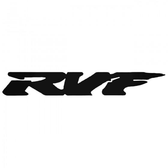 Rvf Decal Sticker