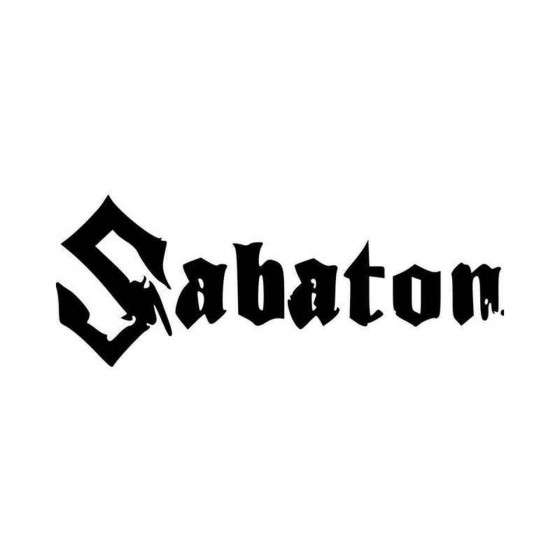 Sabaton Band Logo Vinyl...