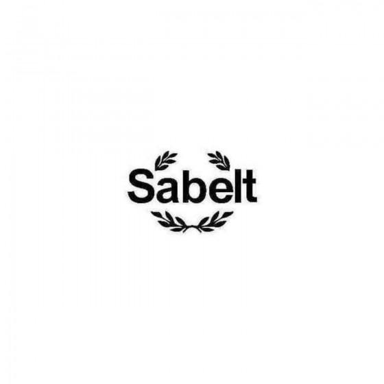 Sabelt Decal Sticker