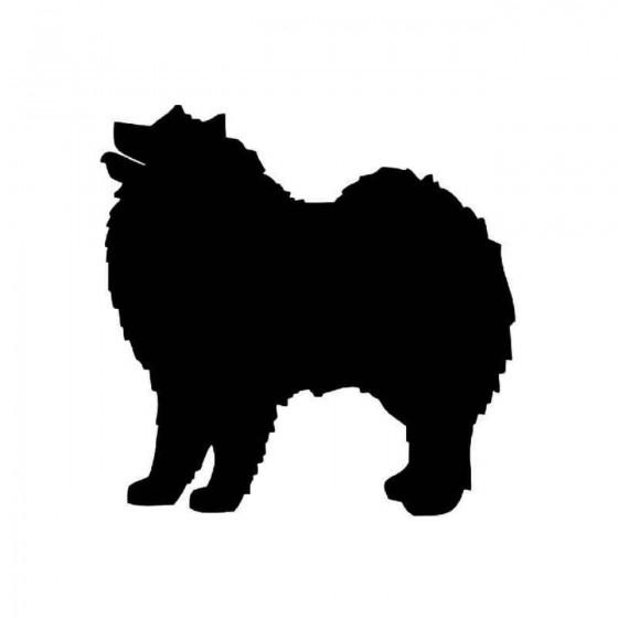 Samoyed Dog Vinyl Decal...