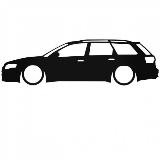 Audi A4 Rs4 Avant Low Sticker