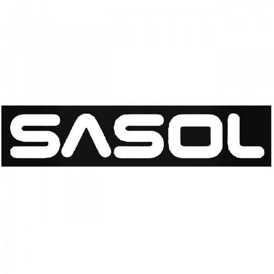 Sasol Vinyl Decal