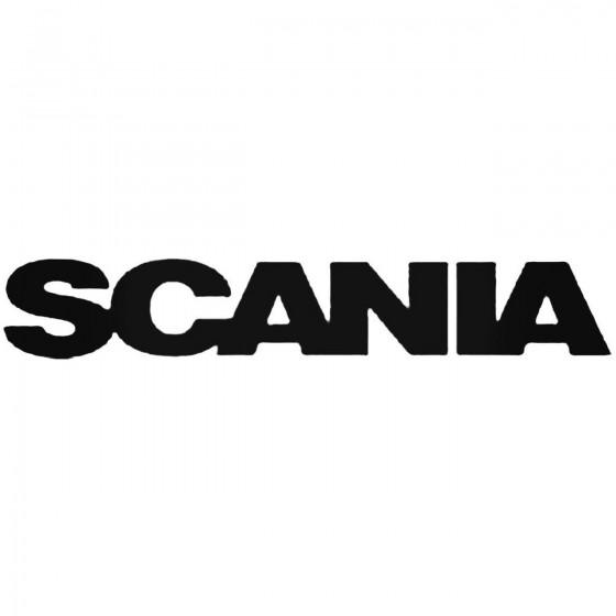 Scania B Decal Sticker