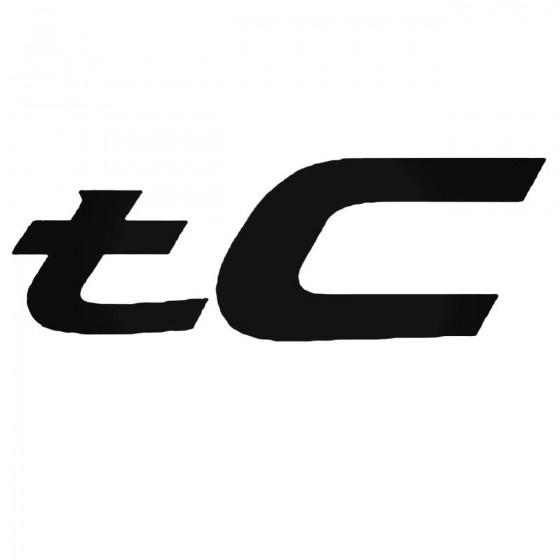 Scion Tc Set Decal Sticker