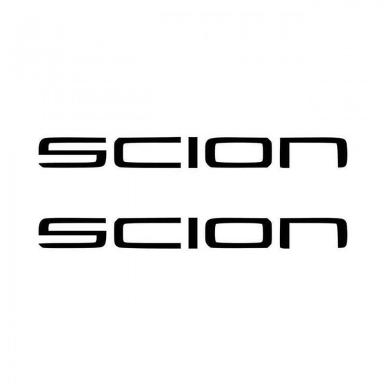 Scion Vinyl Decal Sticker