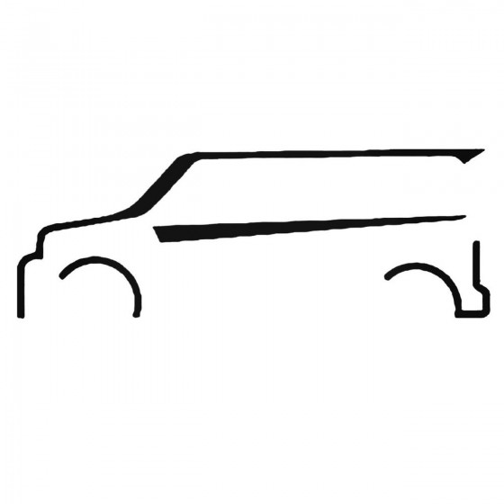 Scion Xb Outline Set Decal...