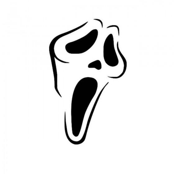 Screem Mask Vinyl Decal...