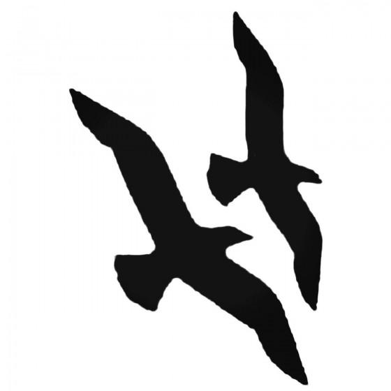 Seagulls Decal Sticker