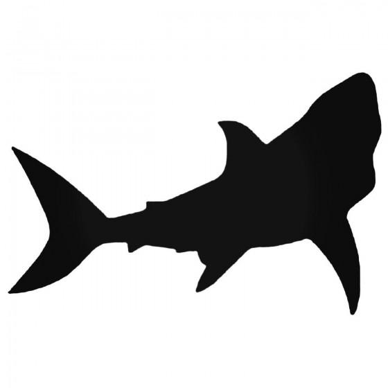 Shark Silhouette Style 2...