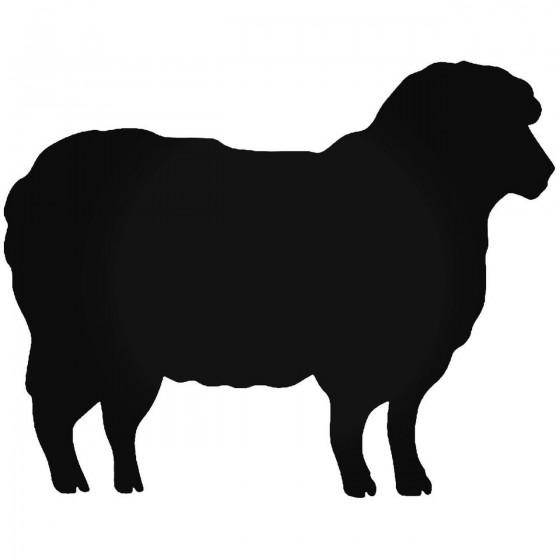 Sheep Lamb Vinyl Decal Sticker