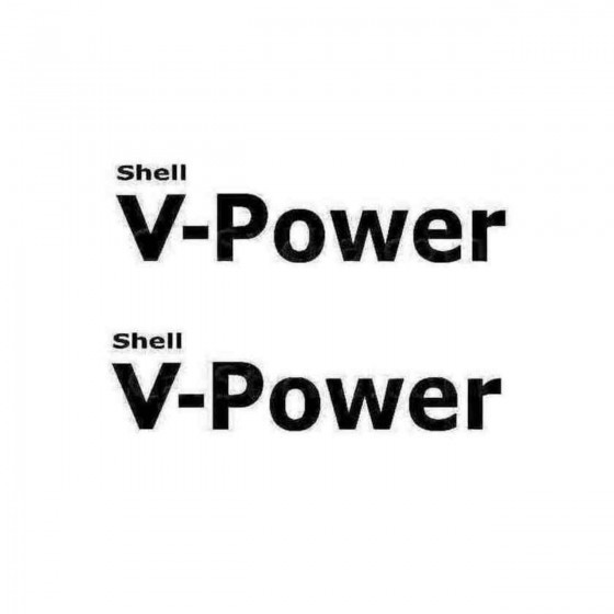 Shell V Power Decal Sticker