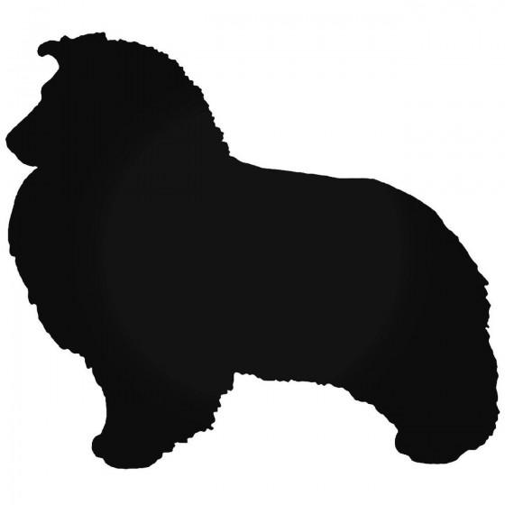 Sheltie Shetland Dog Vinyl...