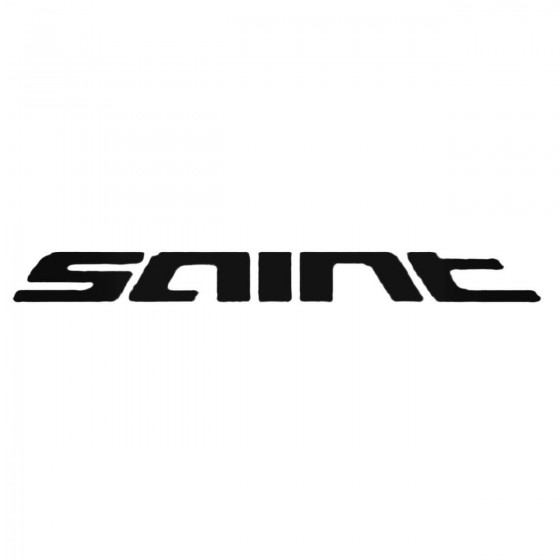 Shimano Saint Decal Sticker