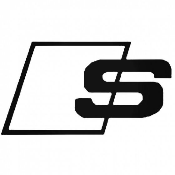 Audi S Line Sticker