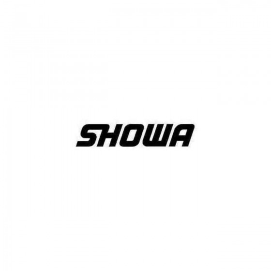 Showa Aftermarket Decal...