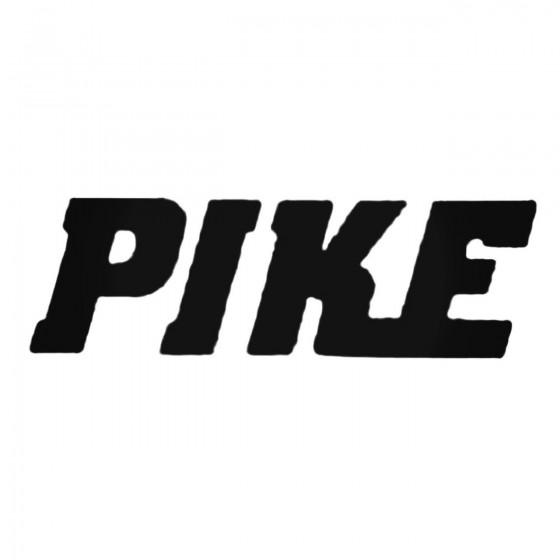 Shox Pike Decal Sticker