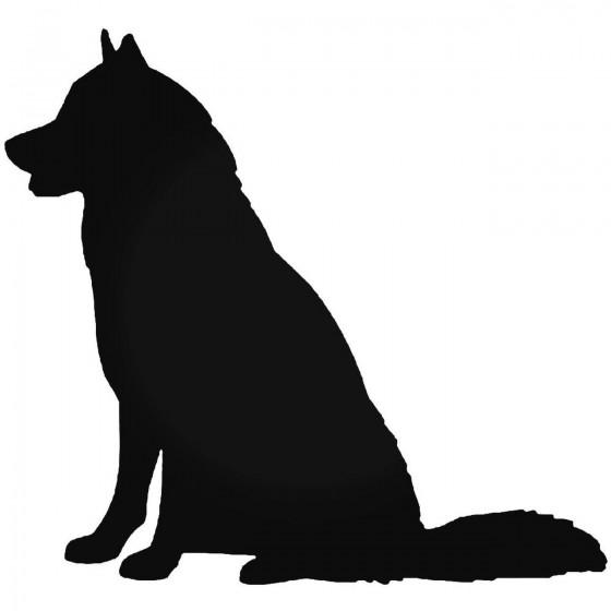 Siberian Husky Dog 2 Vinyl...