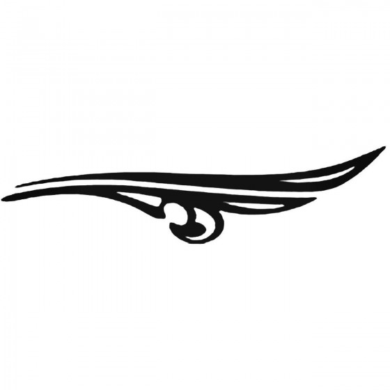 Side Accents Z Decal Sticker