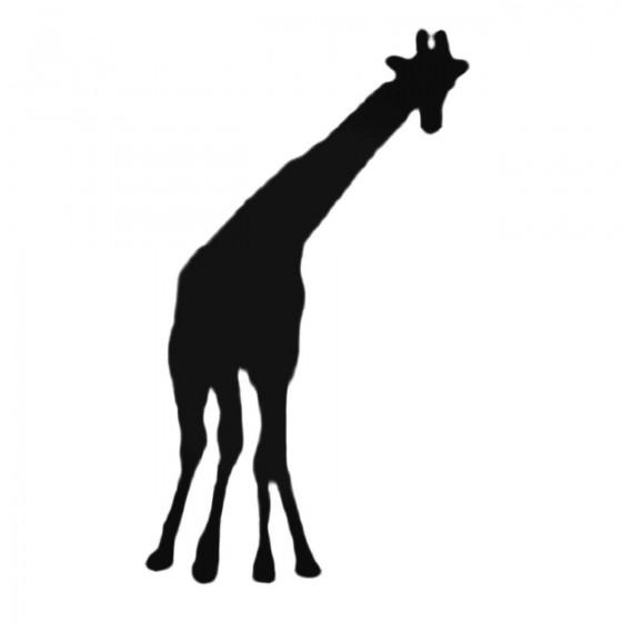 Silly Giraffe Decal Sticker