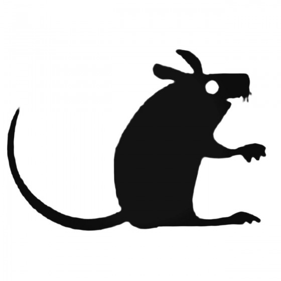 Silly Mouse Decal Sticker