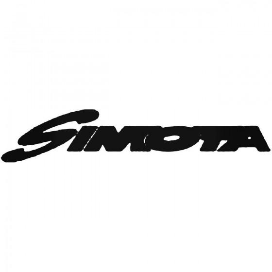 Simota Vinyl Decal