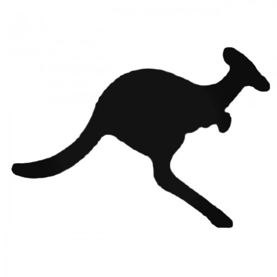 Simple Kangaroo Decal Sticker