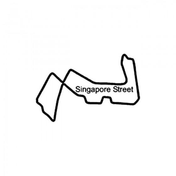 Singapore Street Circuit...