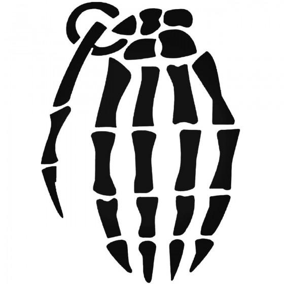 Skeleton Hand Grenade Jdm...