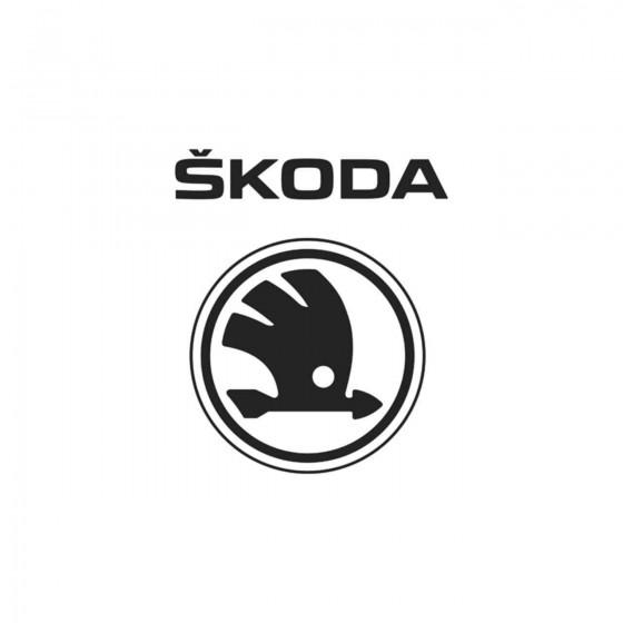 Skoda Logo 2 Vinyl Decal...