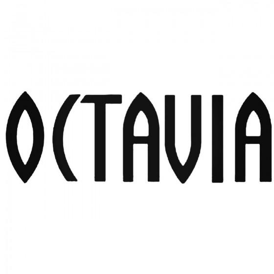 Skoda Octavia Decal Sticker