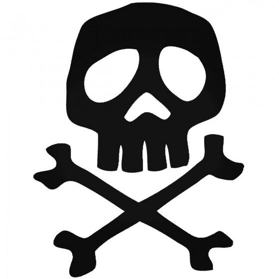 Skull 259 Decal