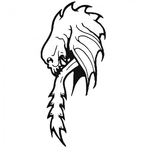 Skull 623 Decal Sticker