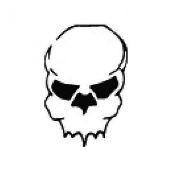 Skull 685 Decal Sticker