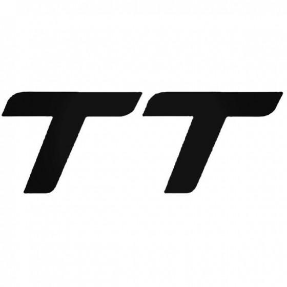Audi Tt 1 Decal Sticker