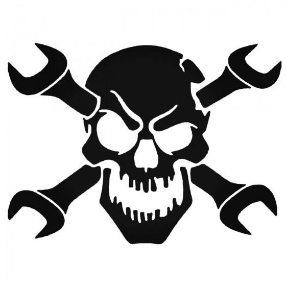 Skull And Wrench Mechanic...