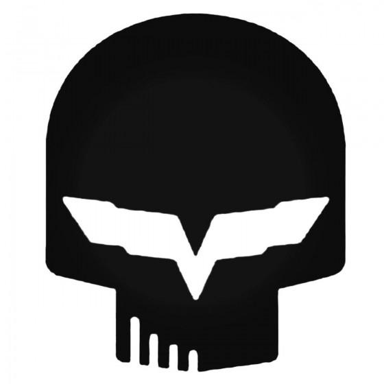 Skull Jake Corvette Decal...