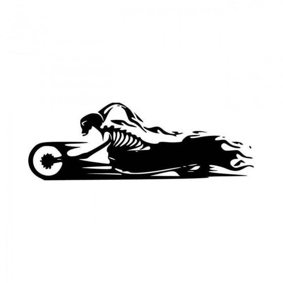 Skull Motorcycle Skeleton...