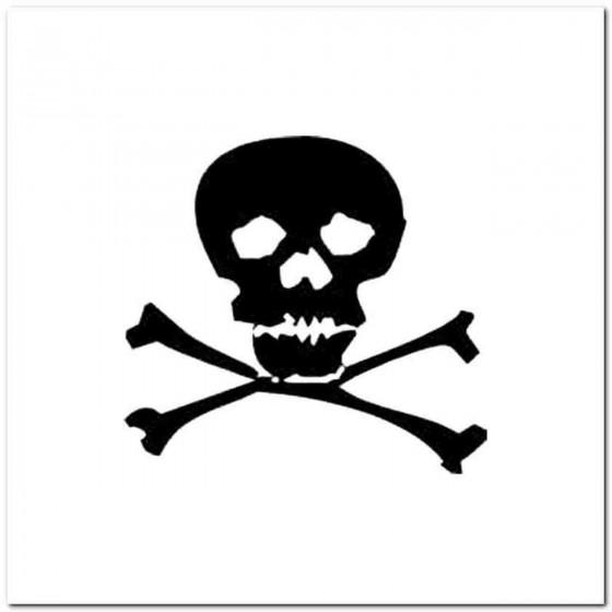 Skull N Decal Sticker