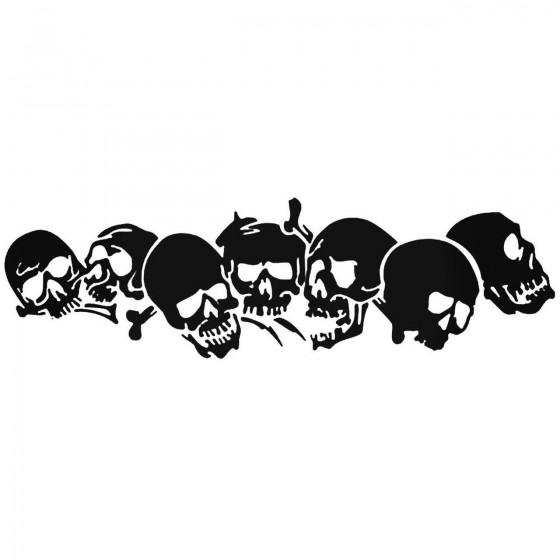 Skulls 165 Decal