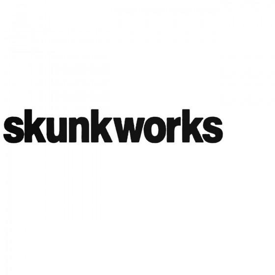 Skunkworks Graphic Decal...