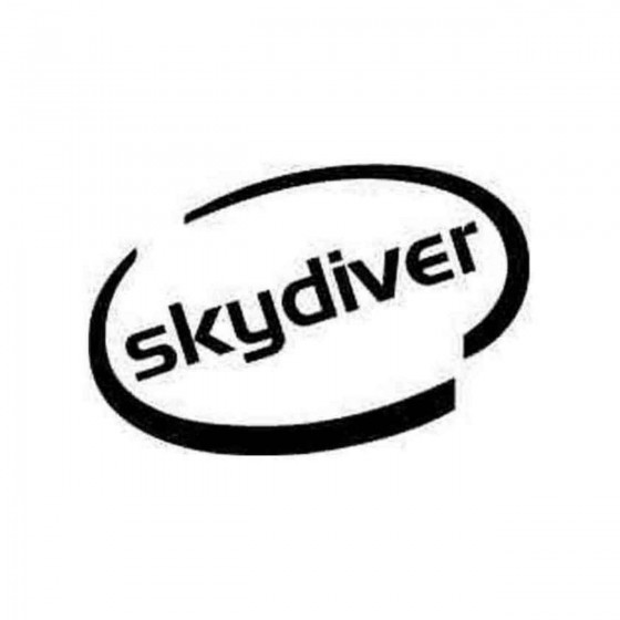 Skydistyle Oval Decal Sticker