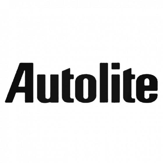 Autolite Decal Sticker