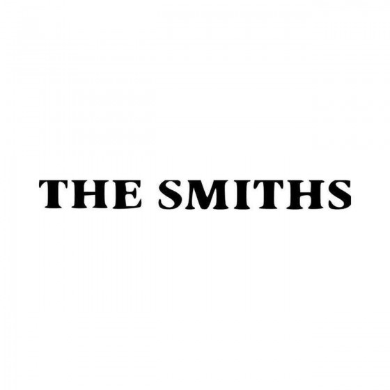 Smiths Logo Vinyl Decal...