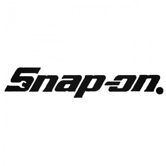 Snap On Aftermarket Decal...
