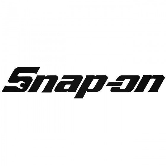 Snap On Logo Vinyl Decal...