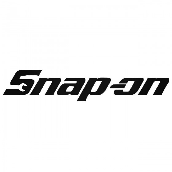 Snap On Tools Decal Sticker