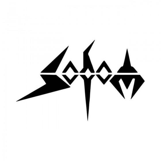 Sodom Vinyl Decal Sticker