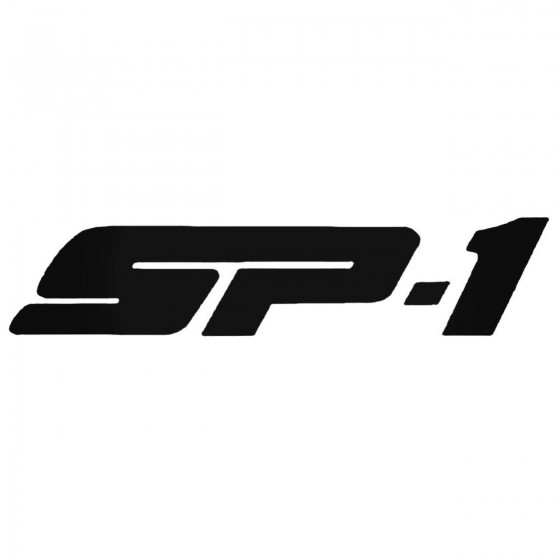 Sp1 Decal Sticker