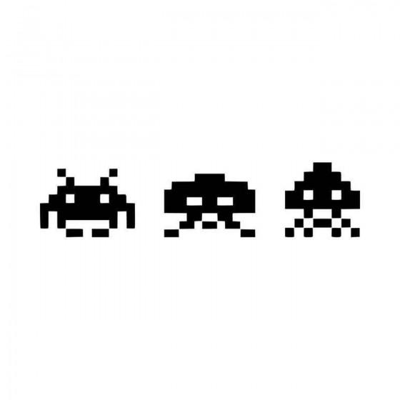 Space Invaders Jdm Vinyl...