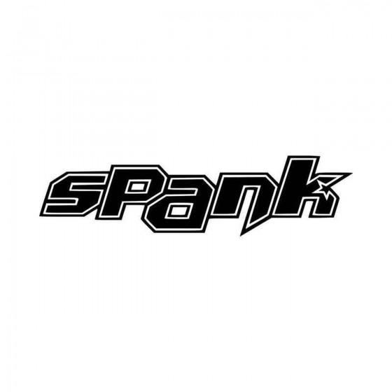 Spank Logo Vinyl Decal Sticker